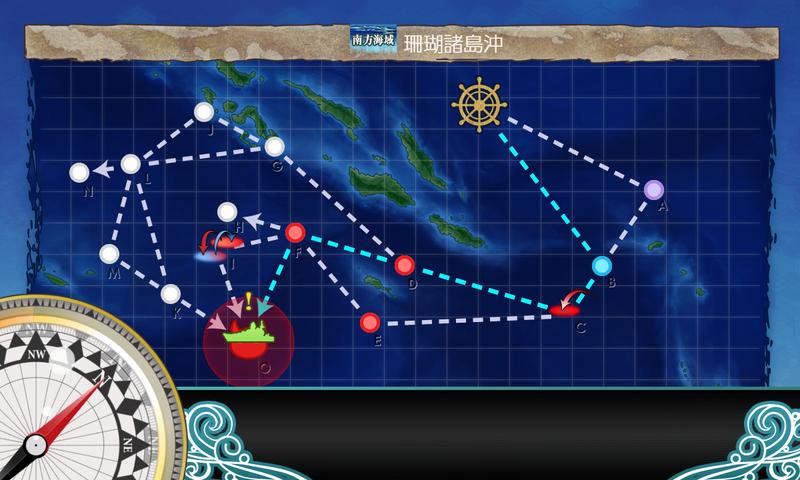 艦隊これくしょん/令和三年節分任務群/5-2海域マップ