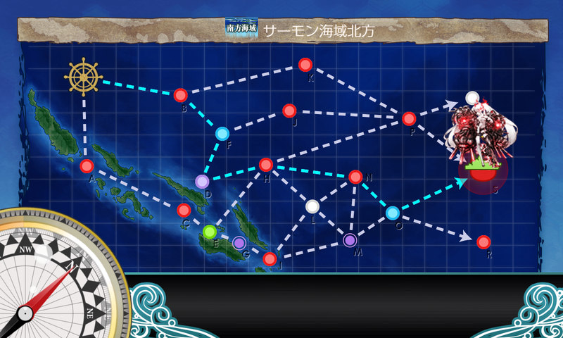 艦隊これくしょん/令和三年節分任務群/5-5海域マップ