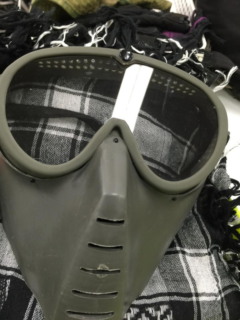 サバゲーでかぶるマスク