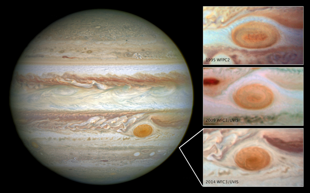 木星 大赤斑 画像