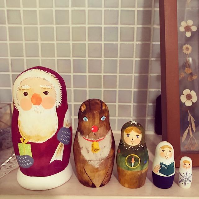 クリスマスマトリョーシカ