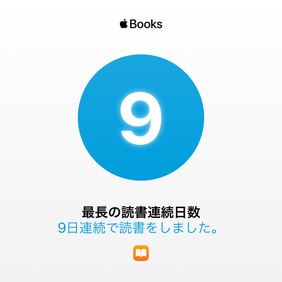 最長の読書連続日数