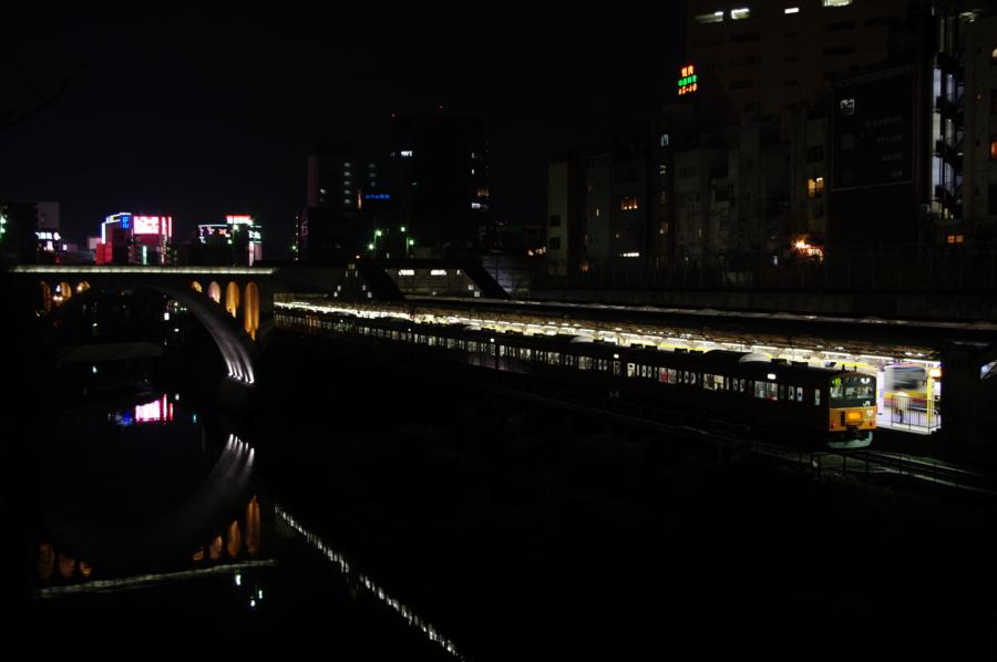 [201系][中央線][御茶ノ水][夜][愛されて30年]