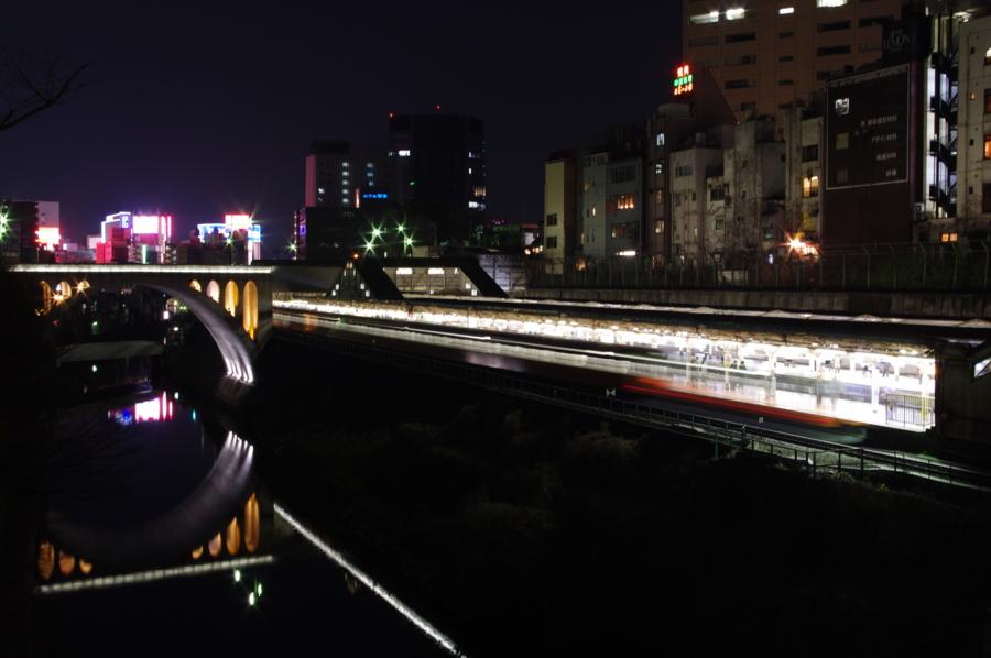 [201系][中央線][御茶ノ水][夜]