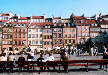 ワルシャワ旧市街01