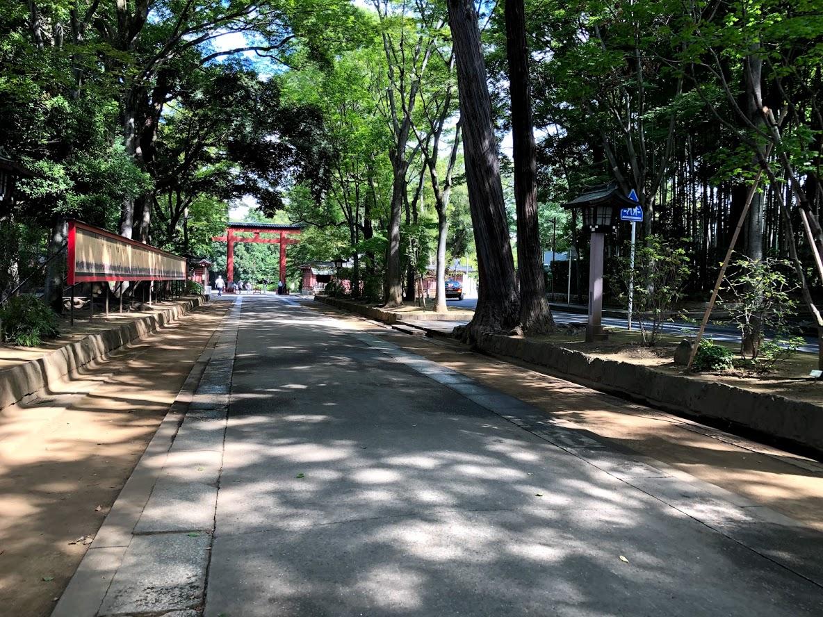 大宮 氷川神社 参道