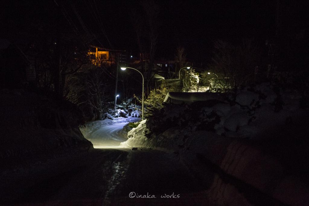 焼尻島の夜