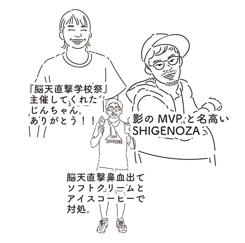 大樹町元地域おこし協力隊の神宮司さん(じんちゃん)と野澤一盛さん(しげのざ)