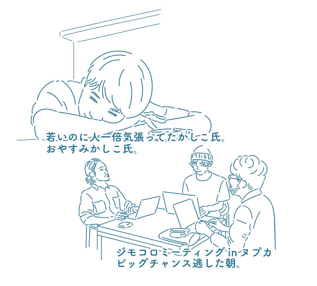 クスろの須藤か志こ氏と株式会社Huuuuメンバー