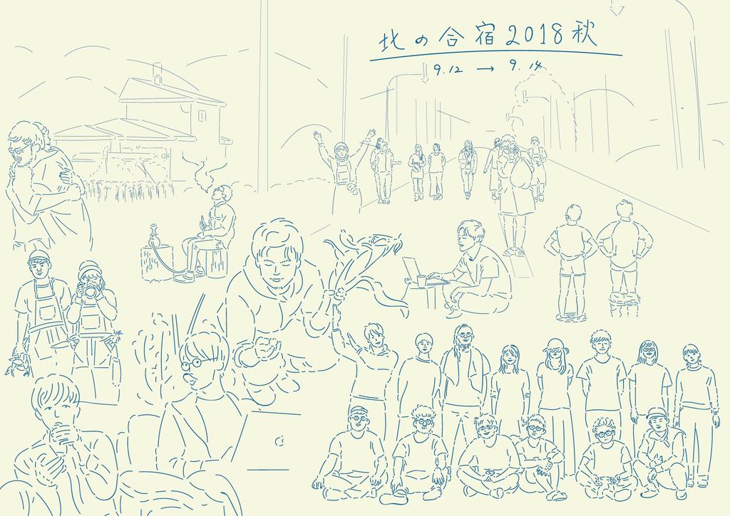 北の合宿2018秋 北海道遠軽町えづらファーム