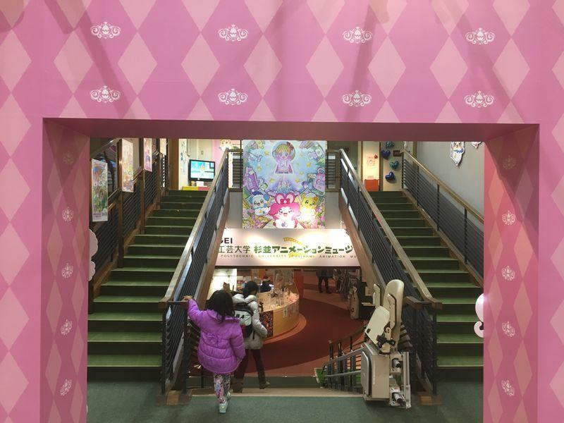 5階への階段