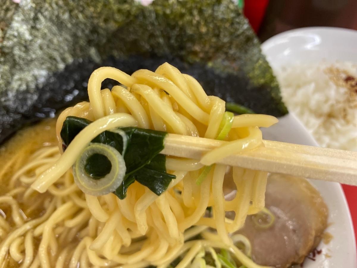 鹿島家黄金町店 麺