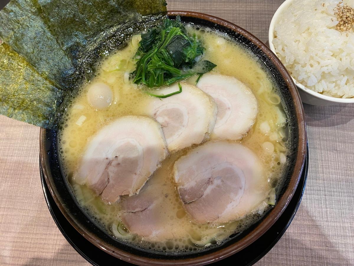 逗子家横須賀中央店 チャーシューメン