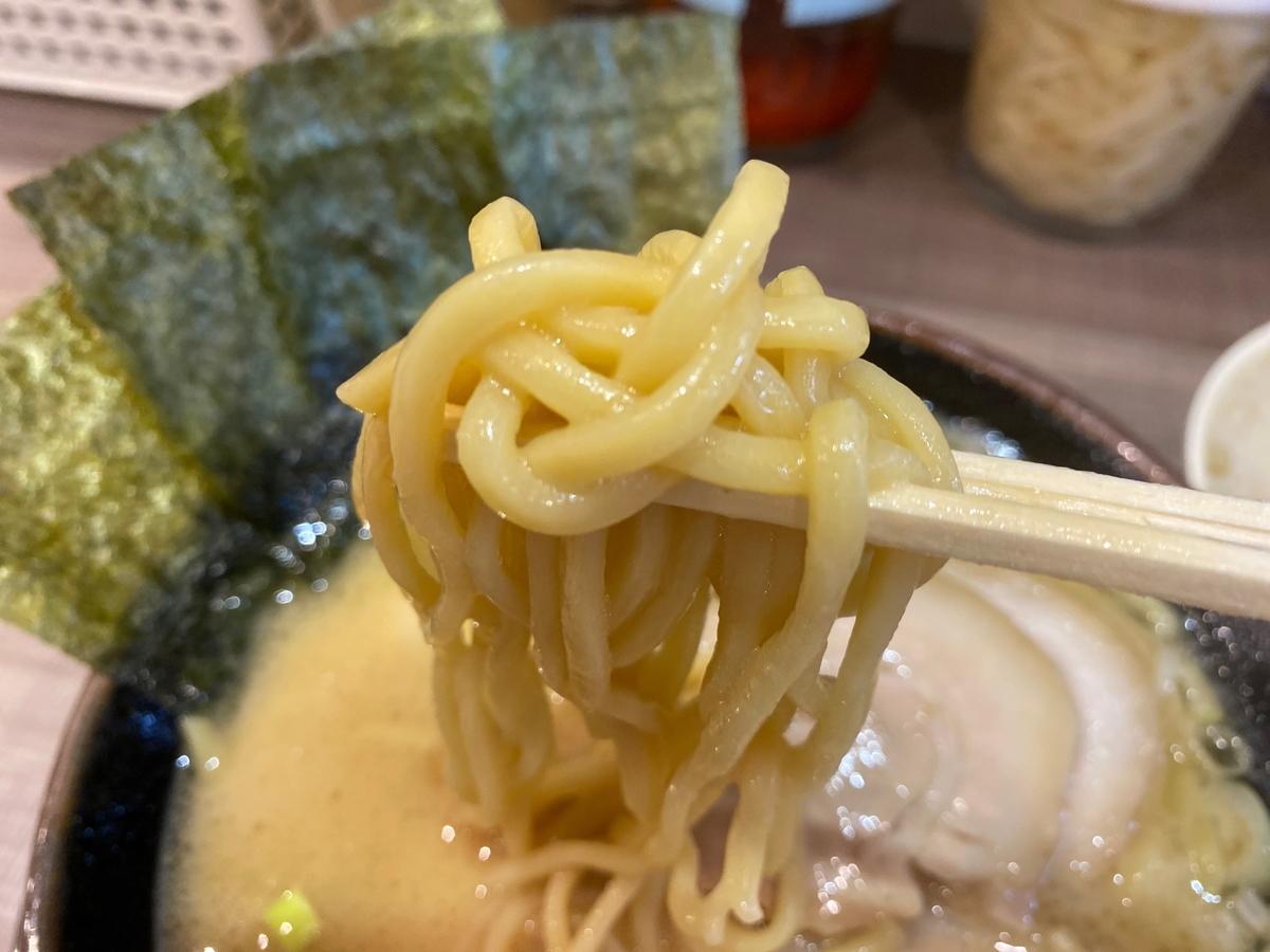 逗子家横須賀中央店 麺