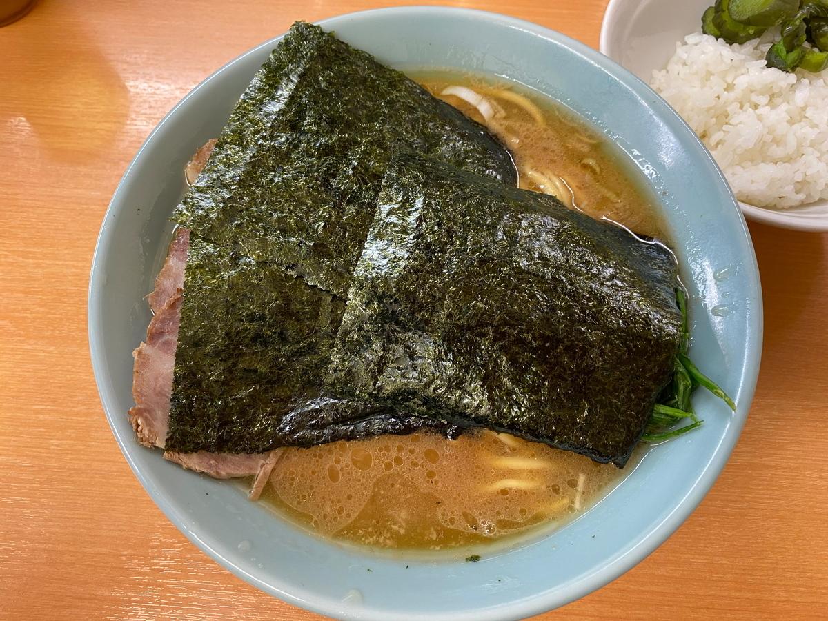 らすた チャーシュー麺