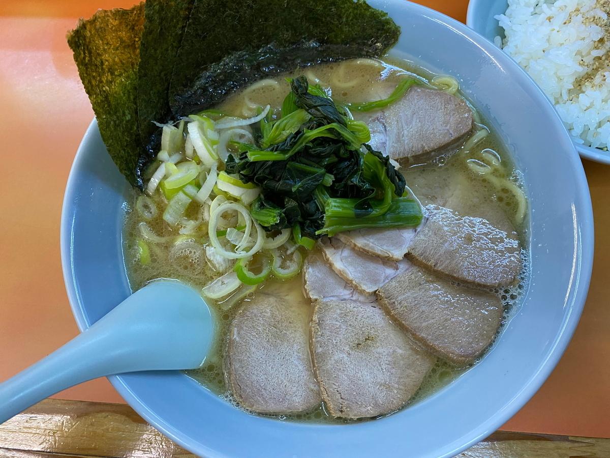 鹿島家石川町店 チャーシューメン(太麺)