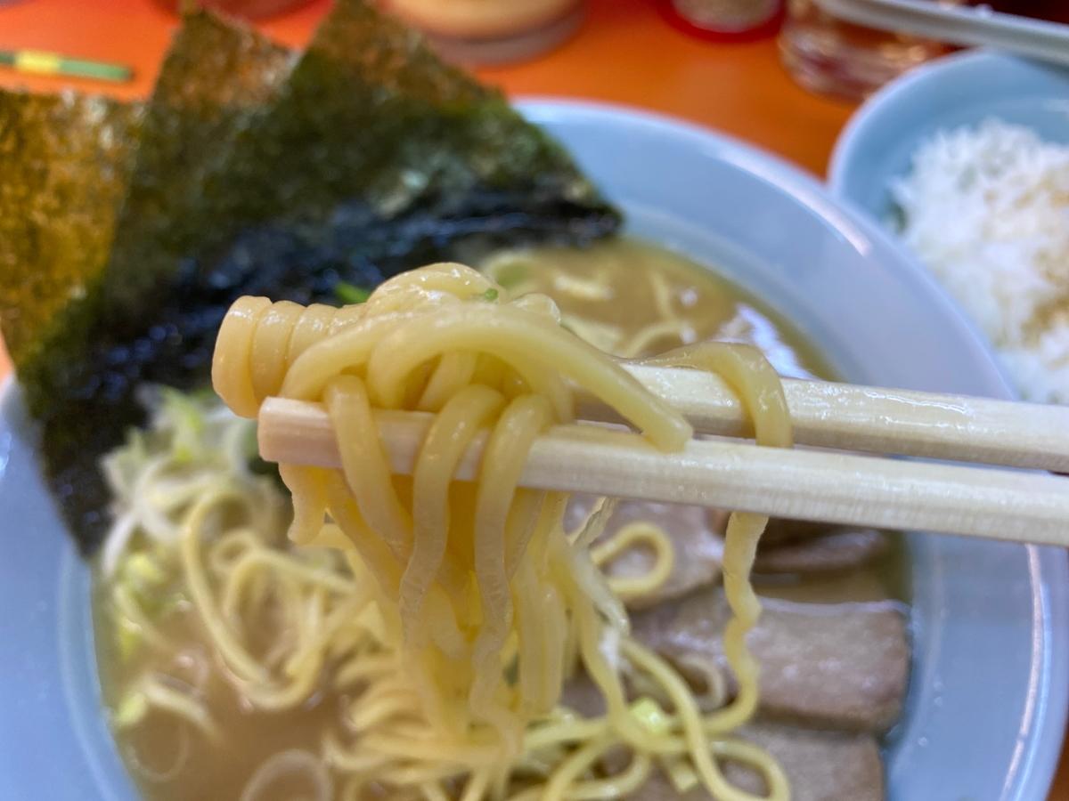 鹿島家石川町店 麺