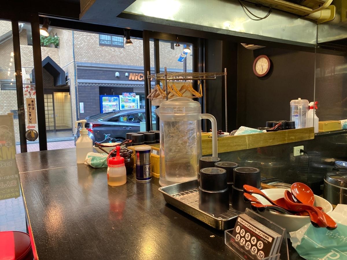 麺屋めんりゅう川崎店 店内