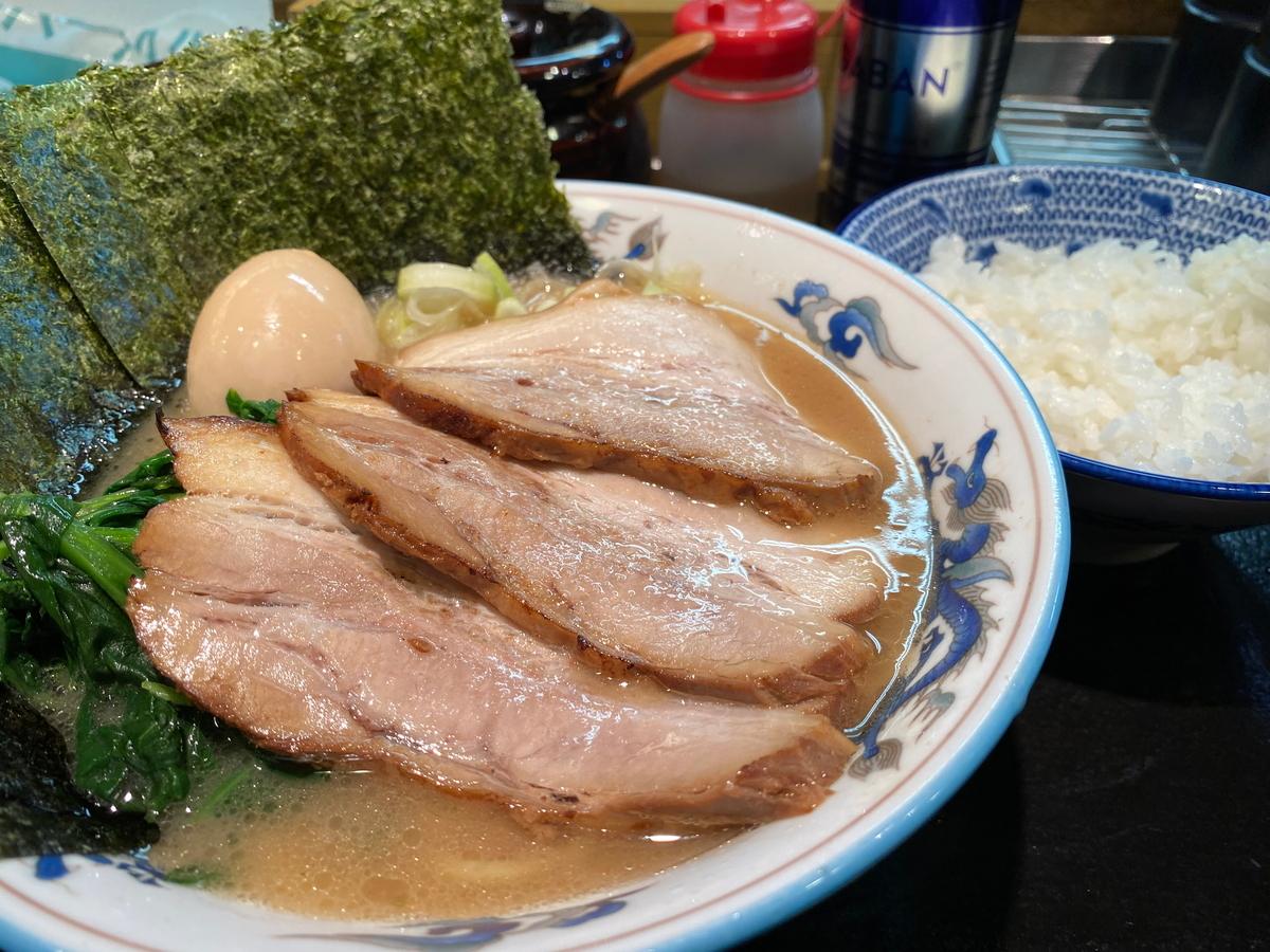 麺屋めんりゅう川崎店 得らーめん+半ライス
