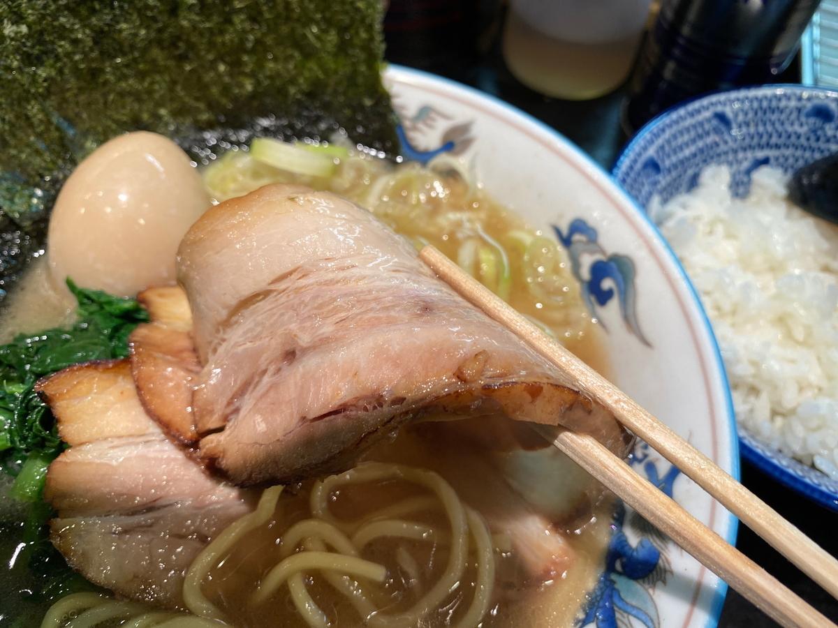 麺屋めんりゅう川崎店 チャーシュー