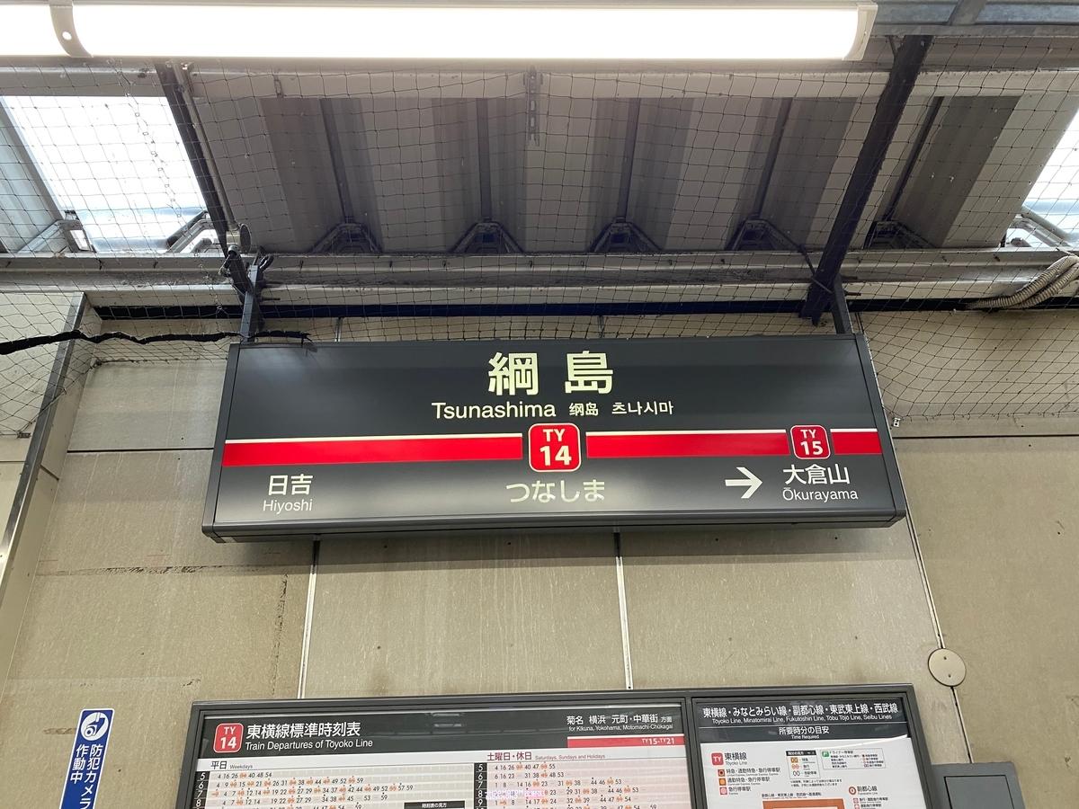 東急東横線「綱島駅」