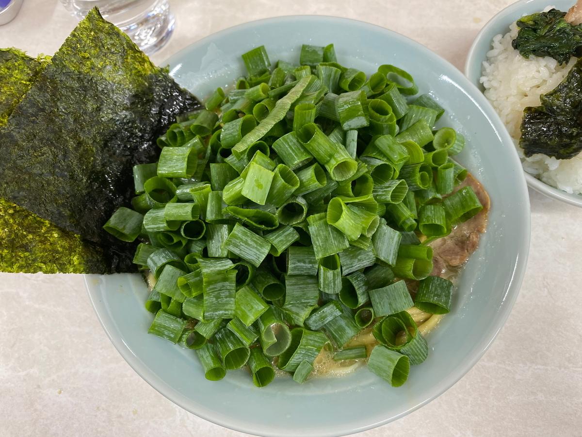 寺田家戸塚店 青ねぎラーメン