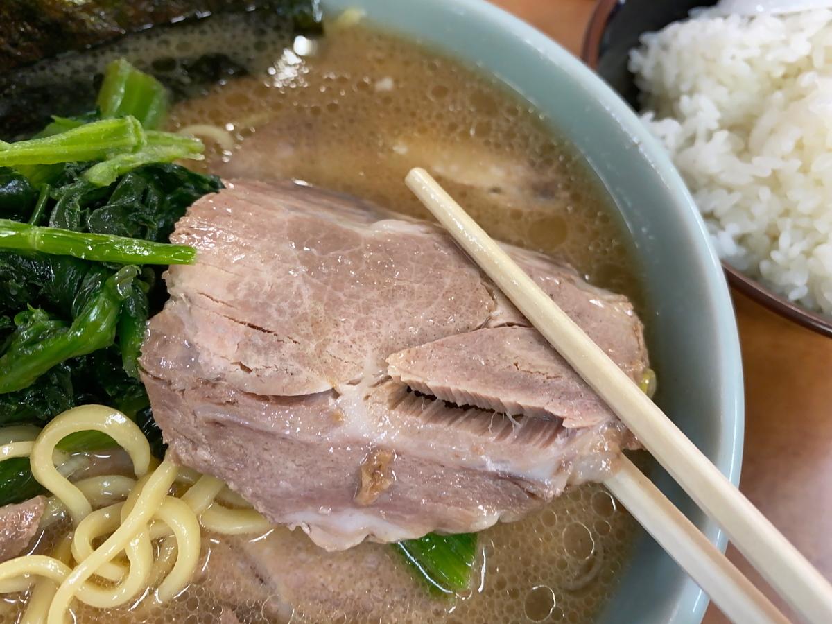 町田家新百合ヶ丘店 チャーシュー