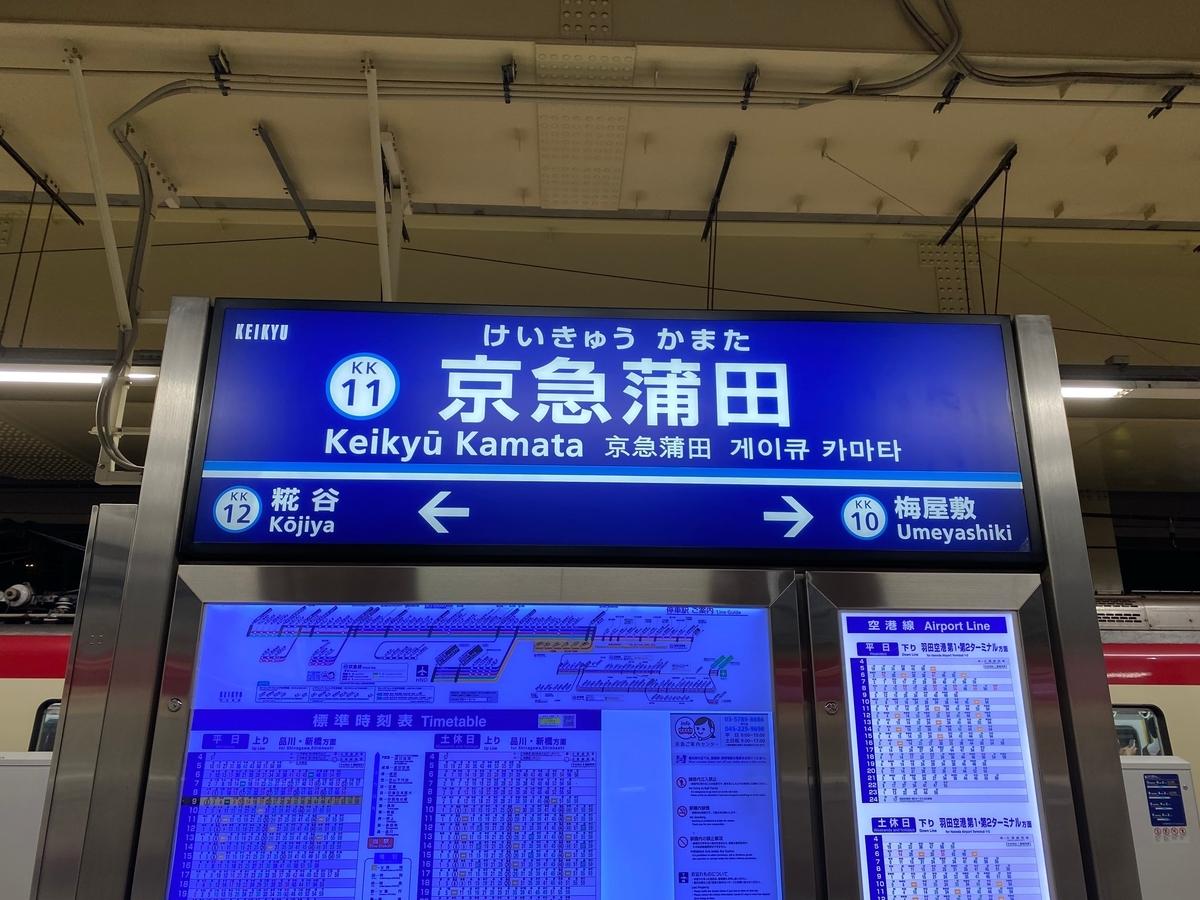 京急本線「京急蒲田駅」