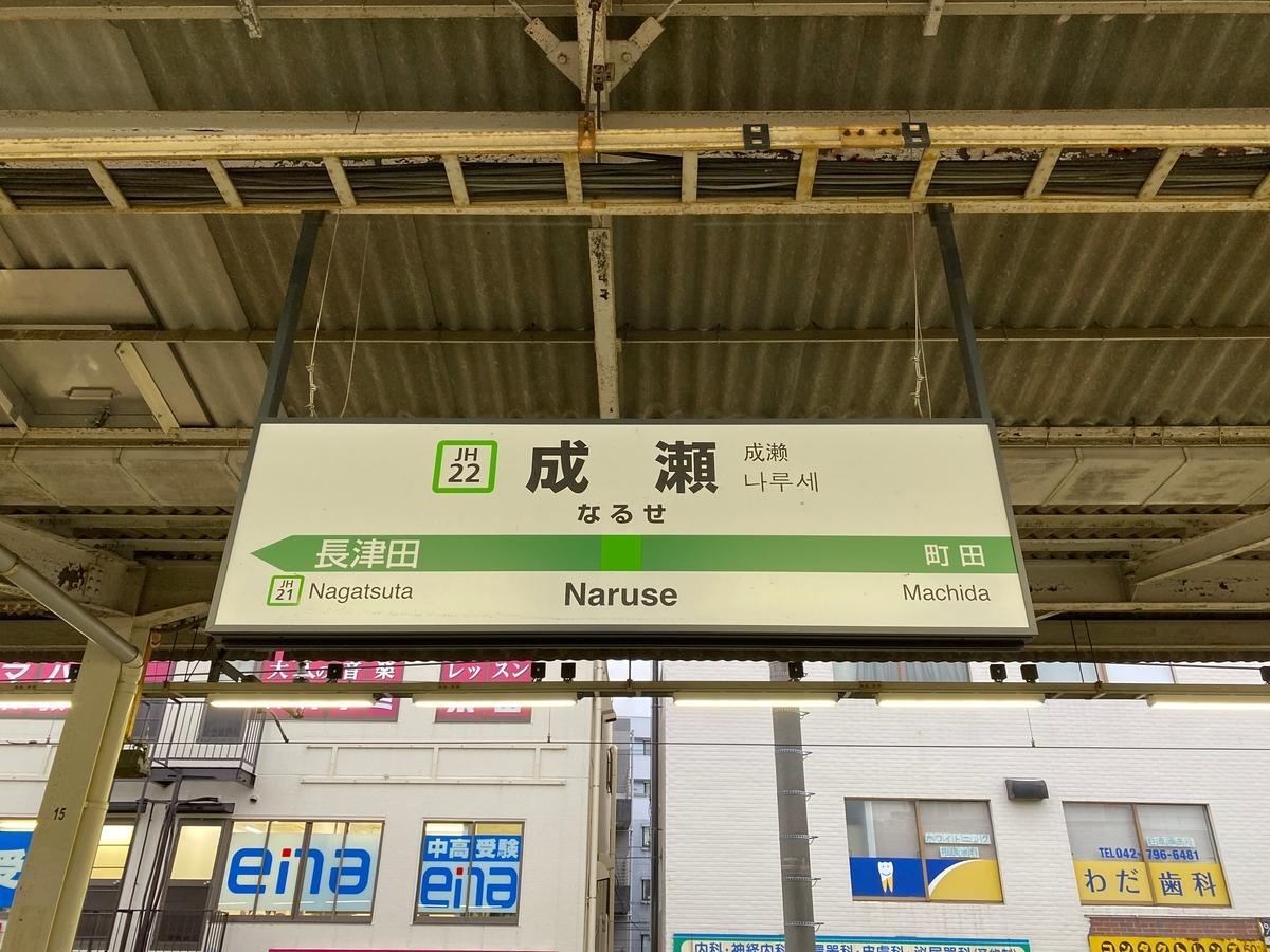 JR横浜線「成瀬駅」