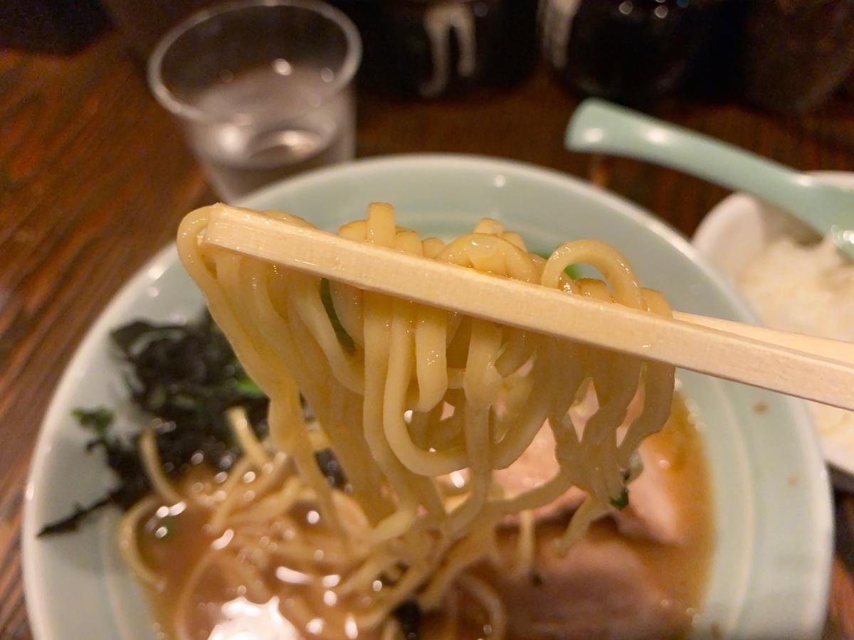 がら屋 麺