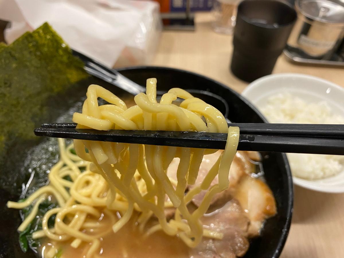 銀家大和店 麺
