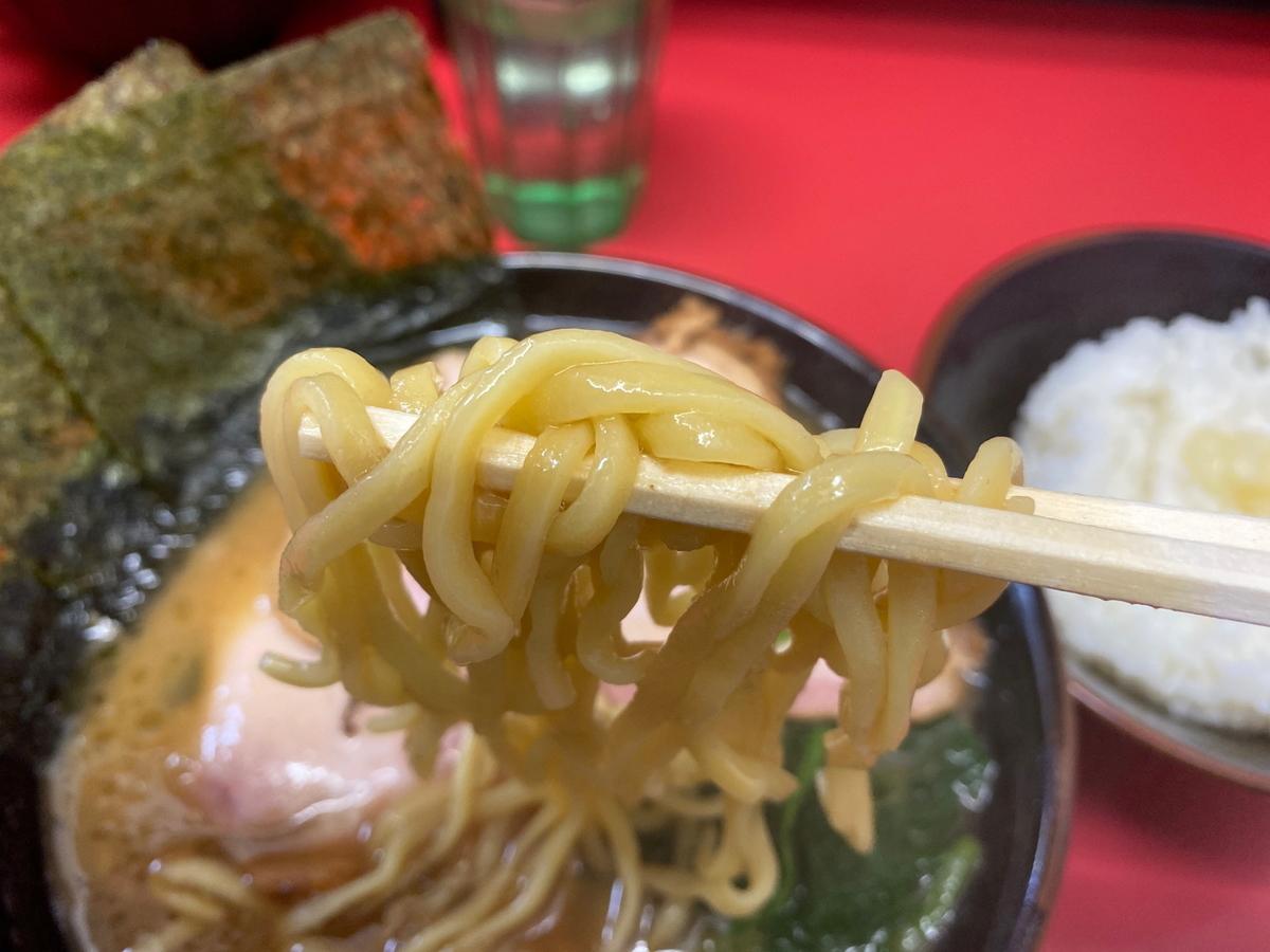 田上家 麺