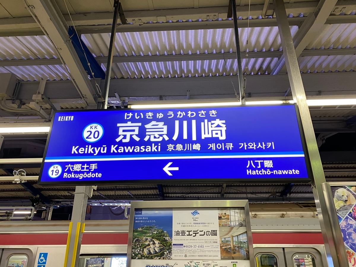 京急本線「川崎駅」