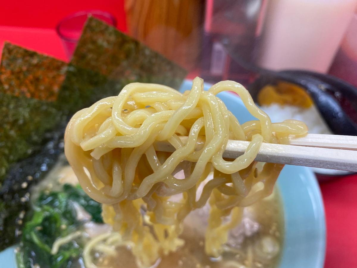 千家根岸店 麺