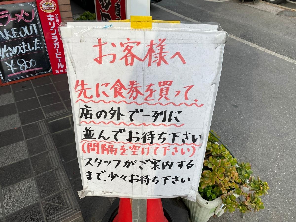 杉田家千葉店 並び方