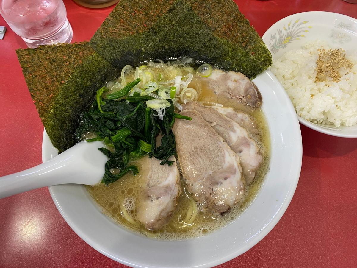 鹿島家鶴見本店 太麺チャーシューメン並