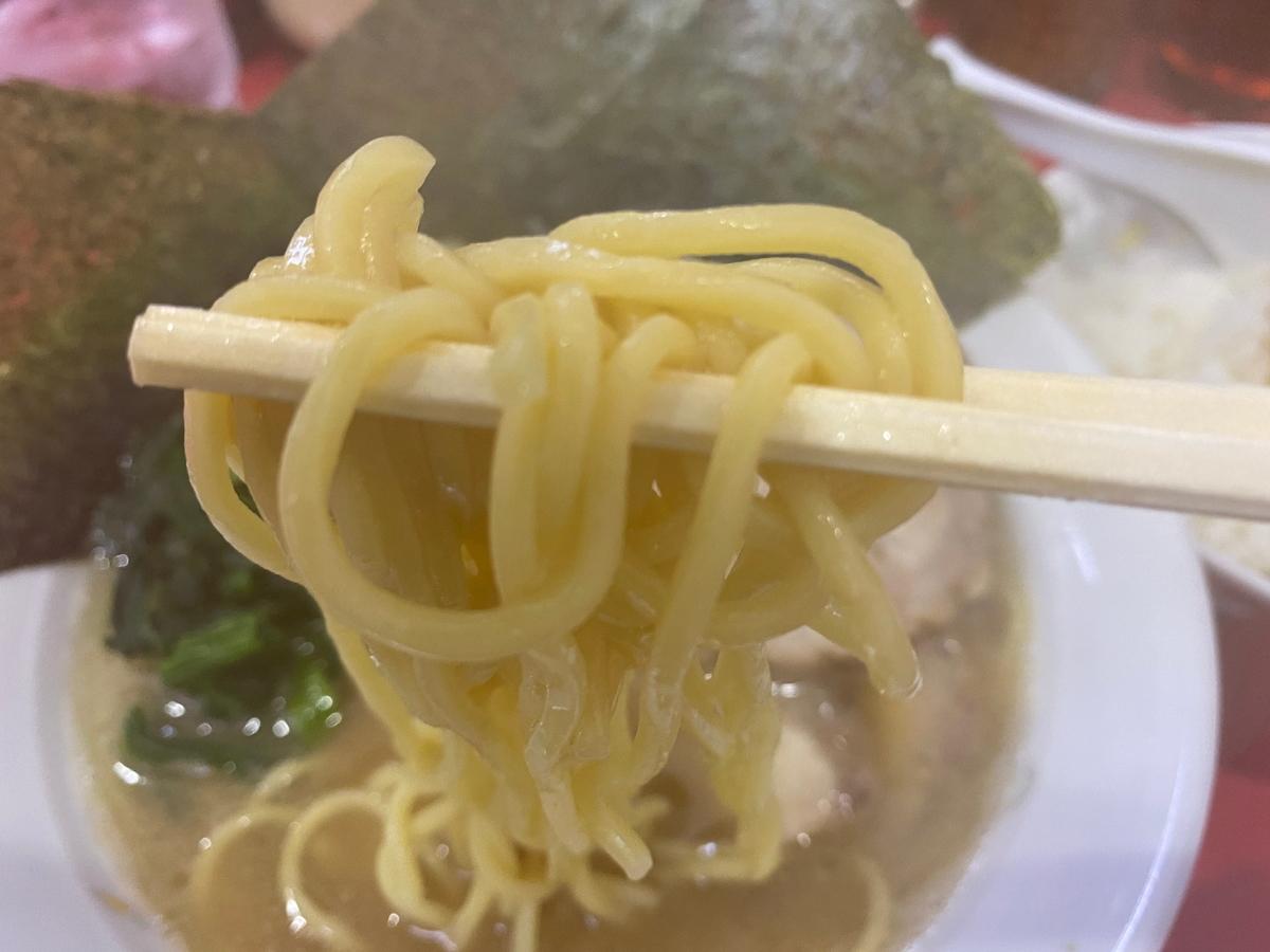 鹿島家鶴見本店 麺