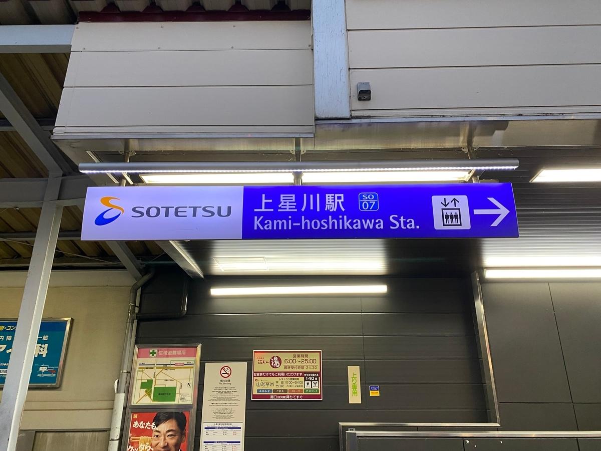 相鉄本線「上星川駅」北口