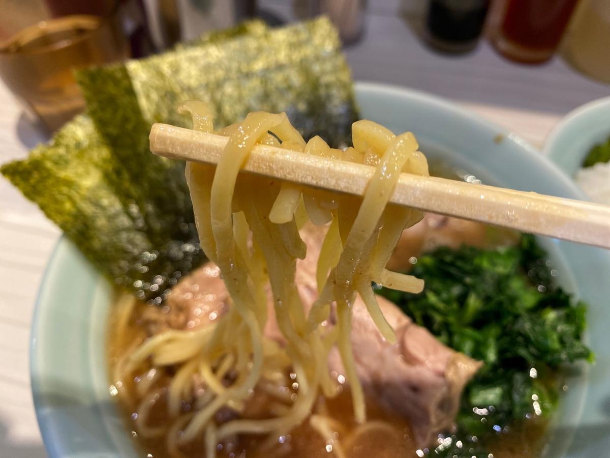 武虎家綱島店 酒井製麺