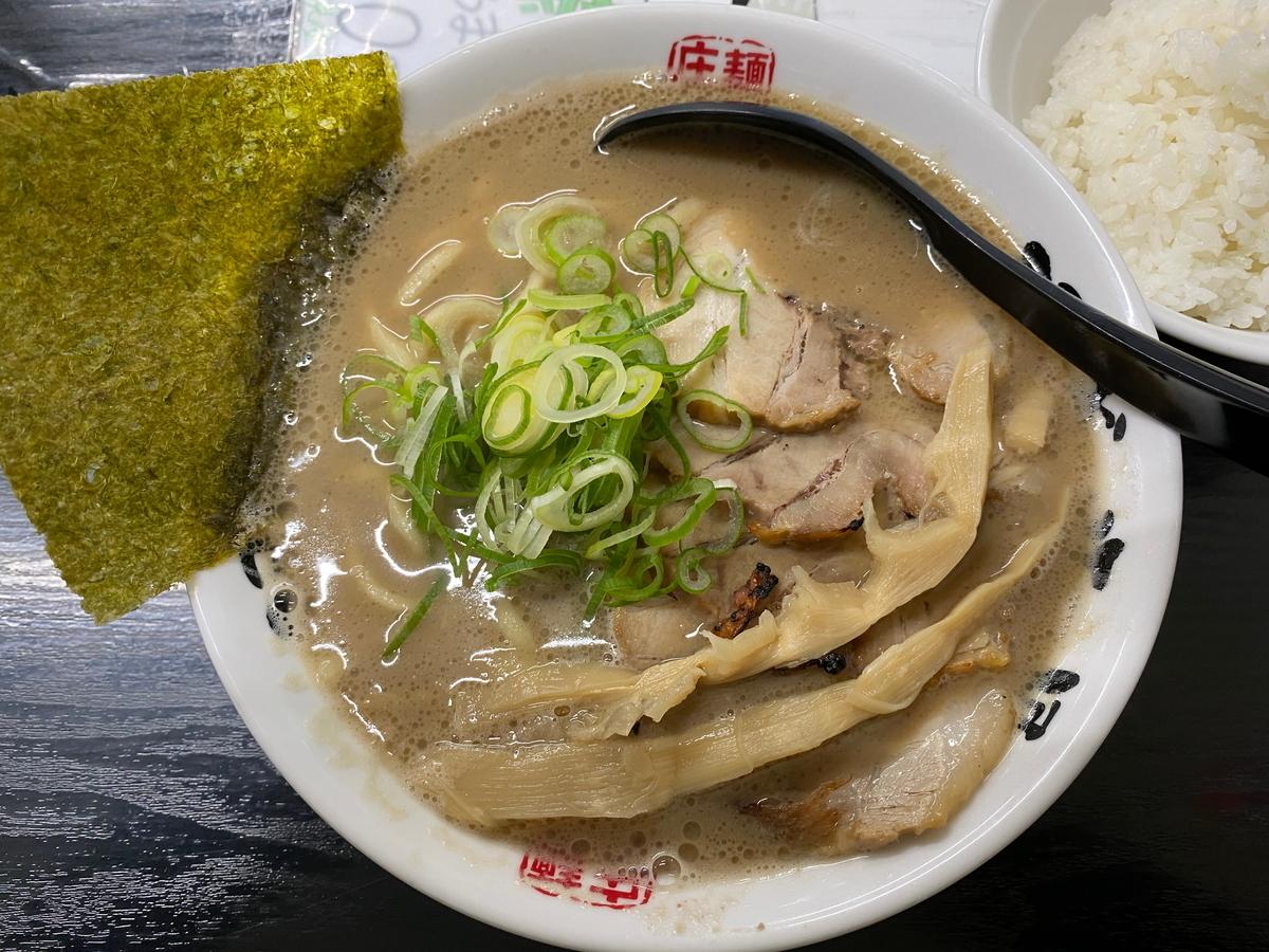 麺屋庄太津久井浜店 らぁ麺+チャーシュー