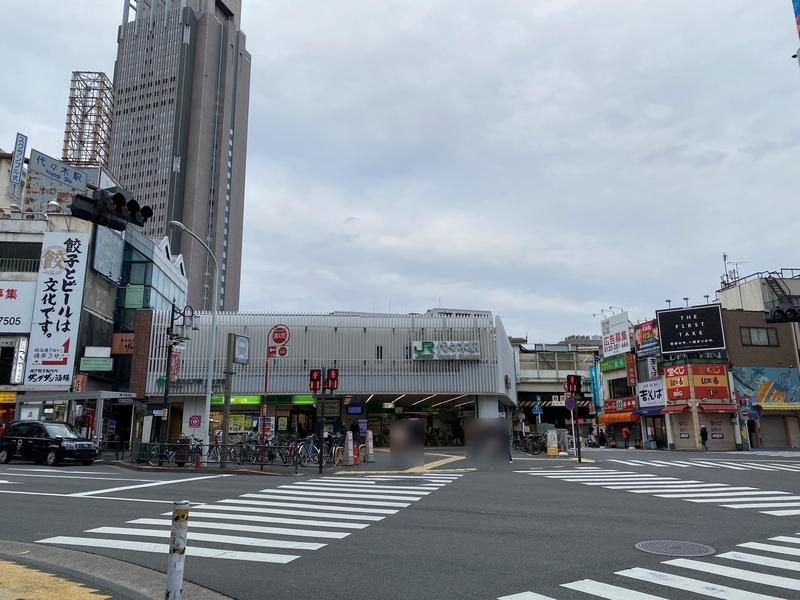 代々木駅JR西口