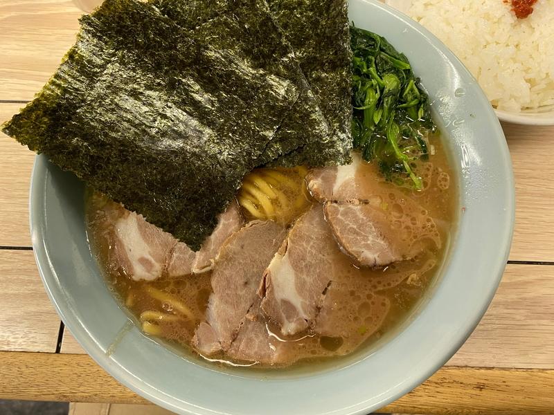 らすた チャーシュー麺(1000円)+ライス(100円)