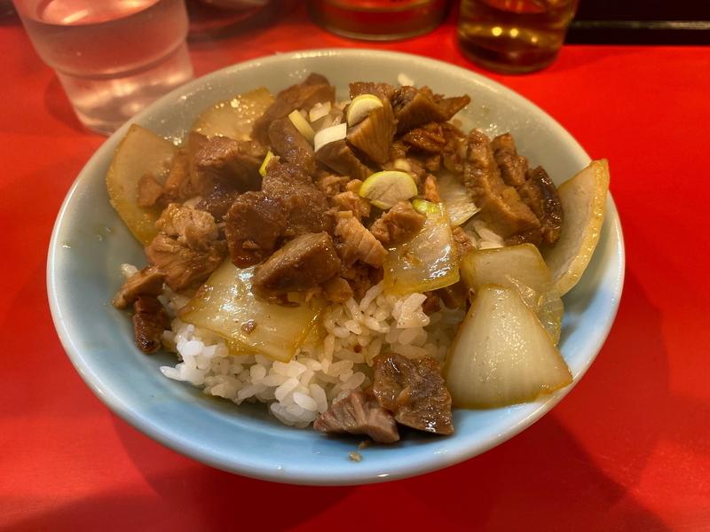 黄金家 チャーシュー丼(200円)
