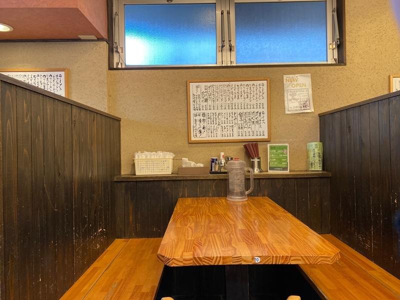 大桜十日市場本店 テーブル席