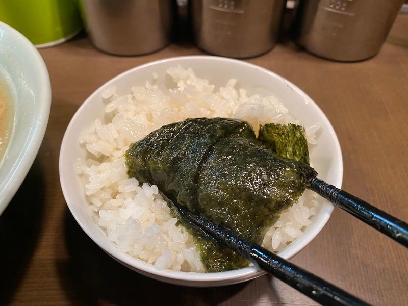 本牧家横須賀店 海苔巻きライス