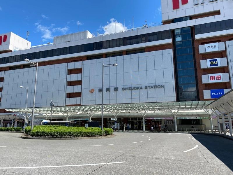 JR「静岡駅」北口