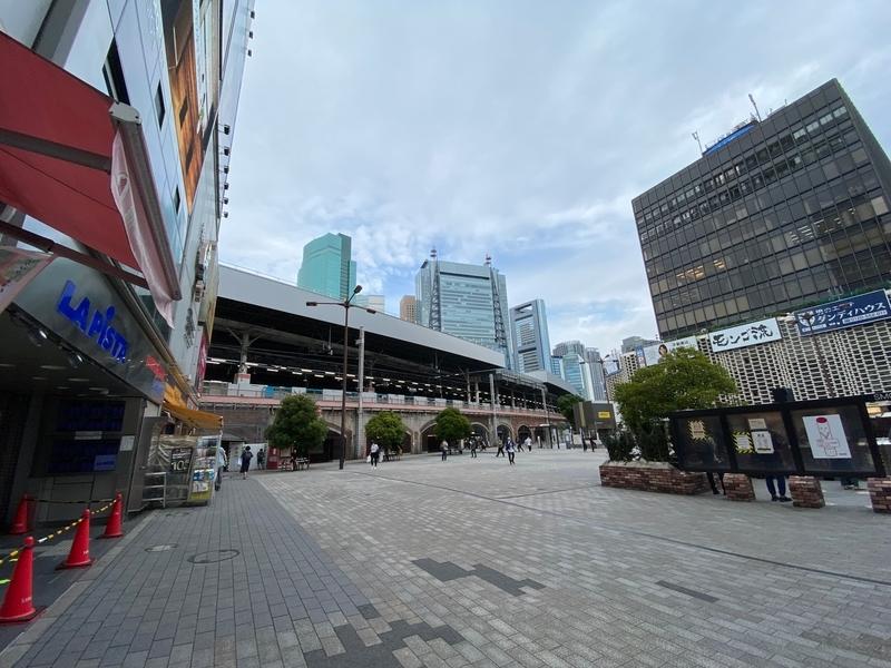 新橋駅日比谷口SL広場
