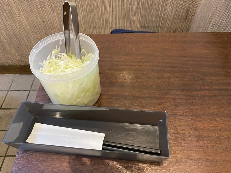 らぁ麺はせ川 サービスねぎ