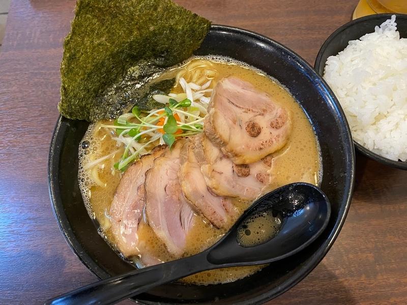 らぁ麺はせ川 らぁ麺+チャーシュー