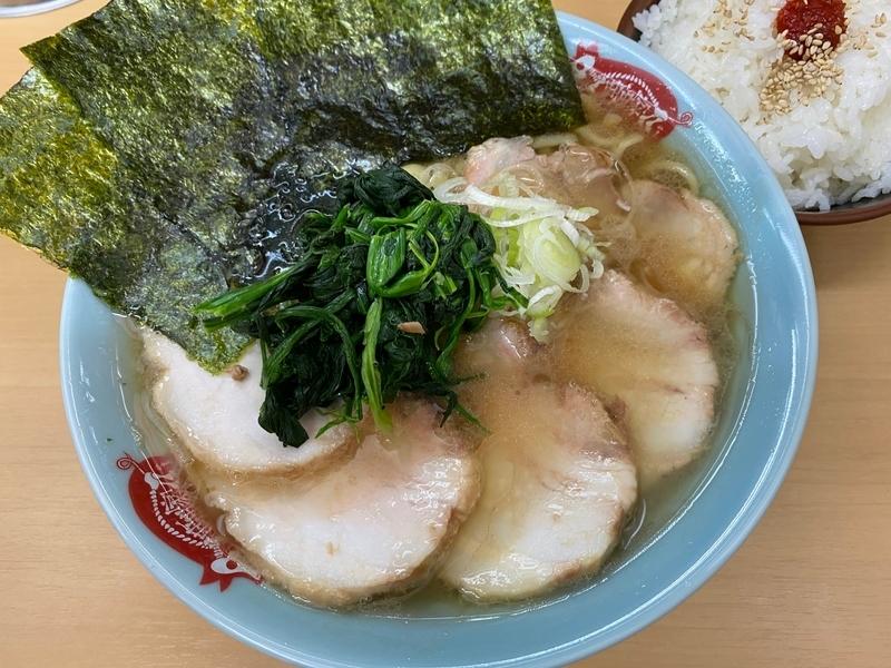 町田家新宿店 チャーシュー麺並盛